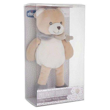 Pelucia Meu Primeiro Urso My Sweet Dou Dou +0m Chicco 58492
