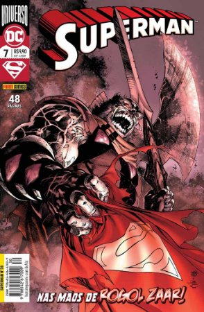 Hq DC Comics Superman Numero 30 / 7 com 48 Paginas Panini