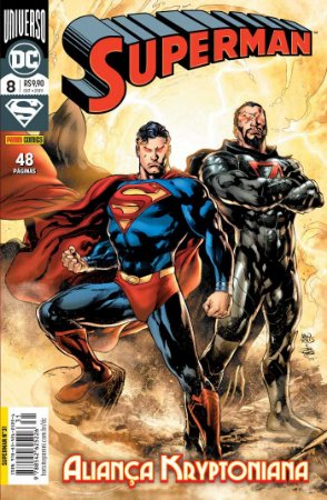 Hq DC Comics Superman Numero 31 / 8 com 48 Paginas Panini