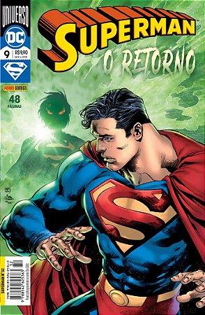 Hq DC Comics Superman Numero 32 / 9 com 48 Paginas Panini