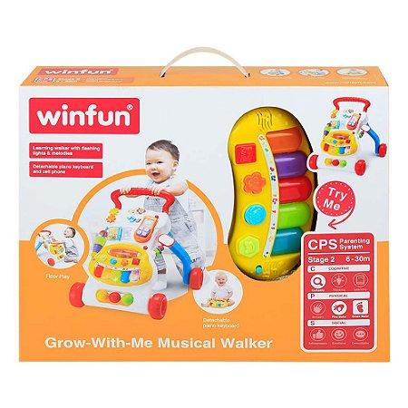 Brinquedo Infantil Andador Musical Multi-Atividades 000804