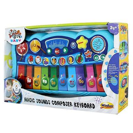 Brinquedo Infantil Teclado Magico Compositor WinFun 002079