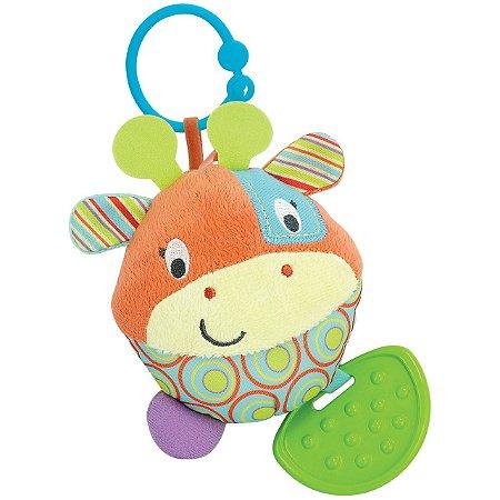 Brinquedo Infantil Chocalho Patch A Girafa Divertida 000107