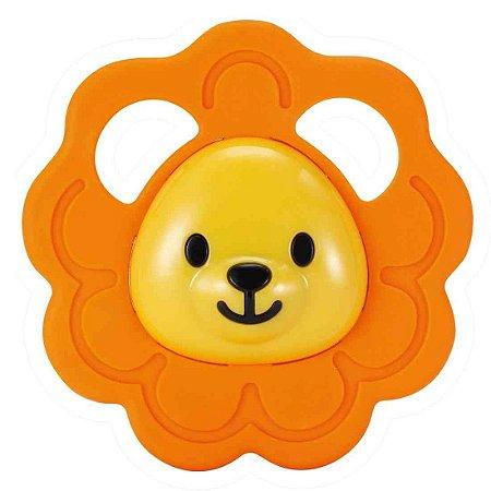 Brinquedo Infantil Chocalho Mordedor Safari Leaozinho 000164