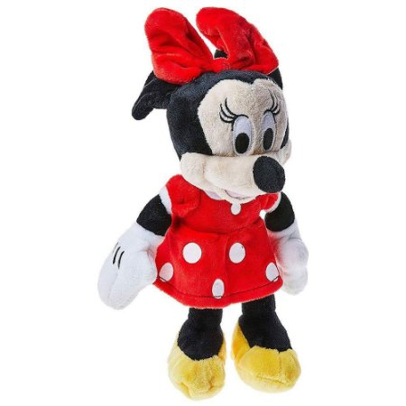 Brinquedo Mini Pelucia Disney com Som Minnie Multikids BR868