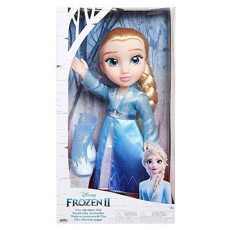 Boneca Frozen 2 Vestido de Luxo Elsa com 35cm da Mimo 6484