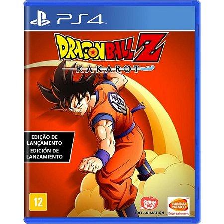 Jogo Midia Fisica Dragon Ball Z Kakarot Bandai Namco pra Ps4