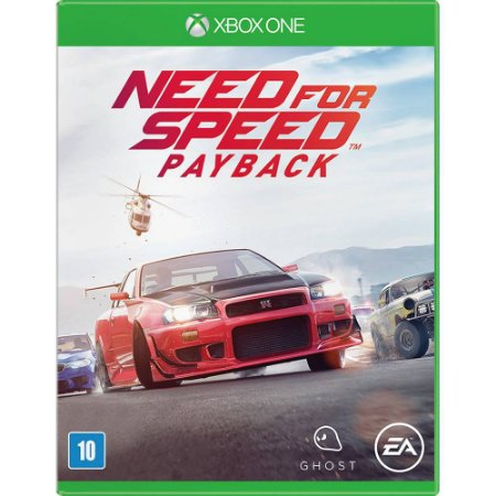 Jogo Midia Fisica Need For Speed Payback Para Xbox One