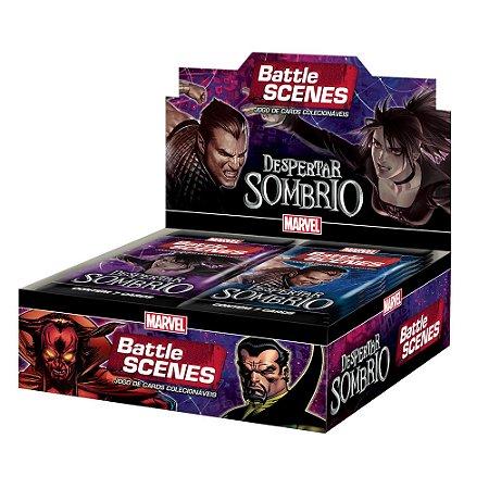 Box Booster Marvel Battle Scenes Despertar Sombrio da Copag