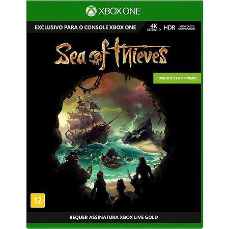 Jogo Novo Midia Fisica Sea of Thieves Original para Xbox One