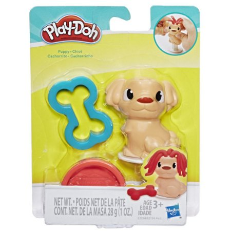 Massinha Play Doh Mini Mascotes Cachorrinho da Hasbro E2124
