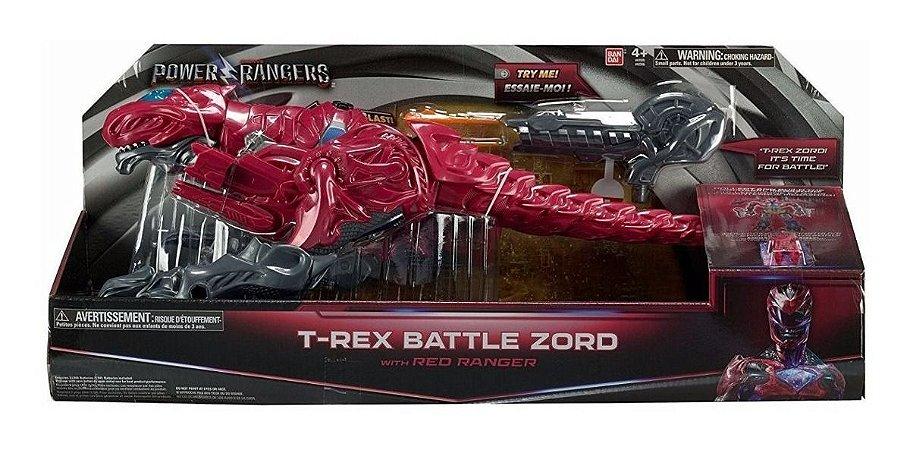 Power Ranger O Filme Zord De Batalha T-rex Vermelho Sunny