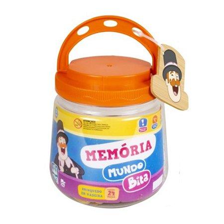 Jogo da Memoria Infantil Mundo Bita da Nig Brinquedos 0691