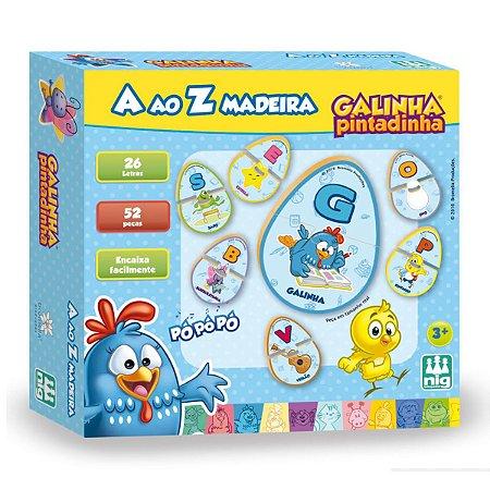 Kit Alfabeto A ao Z Galinha Pintadinha Nig Brinquedos 0712