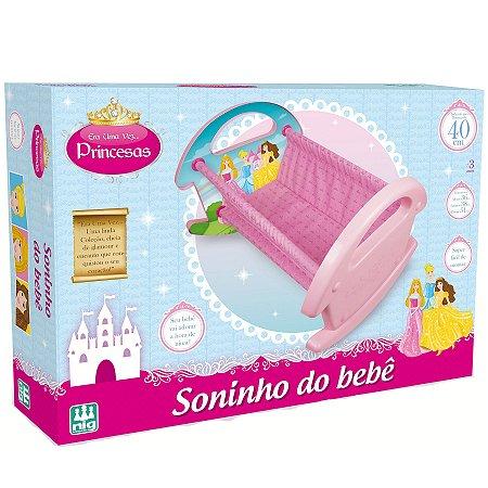 Berço de Boneca Infantil Soninho do Bebê Nig Brinquedos 0791