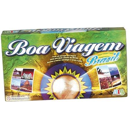 Jogo de Tabuleiro Boa Viagem Brasil da Nig Brinquedos 1105