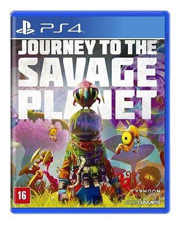Jogo Journey To The Savage Planet Ps4 Mídia Física Lacrado