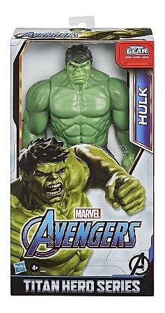 Brinquedo Novo Avengers Boneco Hulk 30cm Deluxe Hasbro E7475
