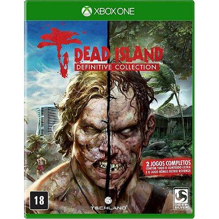 Jogo Midia Fisica Dead Island Definitive Collection Xbox One