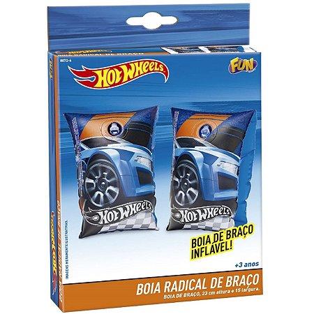 Boia de Braço Inflavel Infantil Hot Wheels Radical Fun 80726