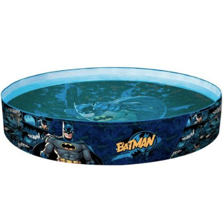 Piscina Inflavel Dc Comics Batman de 224 Litros da Fun 84188