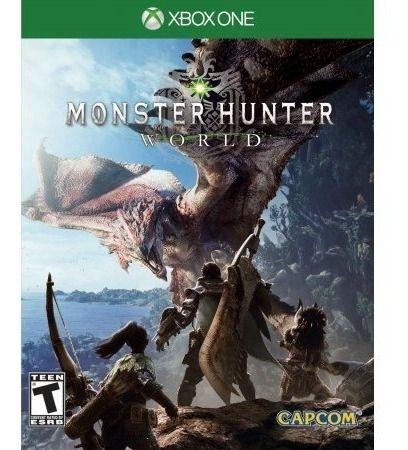 Jogo Novo Mídia Física Monster Hunter World Para Xbox One