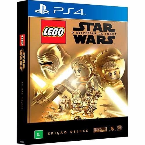 Jogo Midia Fisica Lego Star Wars O Despertar Da Força Ps4 Pt