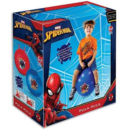 Brinquedo Bola Pula Pula Marvel Spider Man Sortida Lider 530