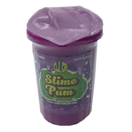 Brinquedo Massa Gelatinosa Slime Pum Cor Sortida Dtc 4625