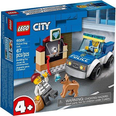 Lego City Blocos de Montar Unidade de Caes Policiais 60241