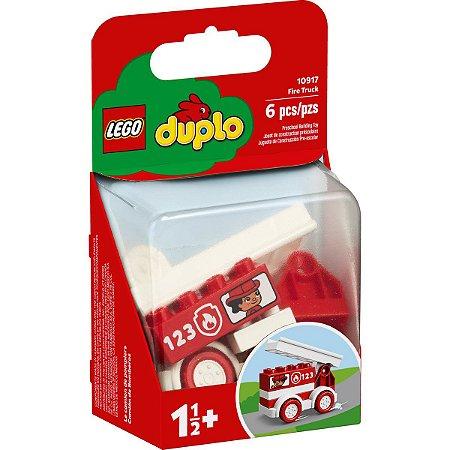 Lego Duplo Blocos de Montar O Caminhao dos Bombeiros 10917