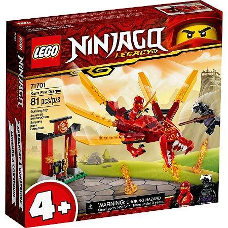 Lego Ninjago Playset Dragao do Fogo do Kai 81 Peças 71701