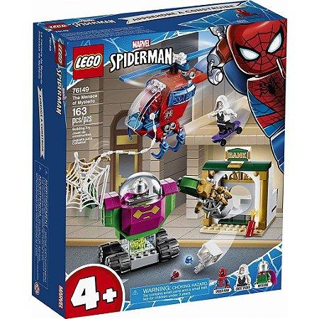 Lego Marvel Super Heroes Spider Man Ameaça de Mysterio 76149