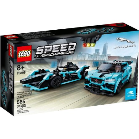 Lego Speed Champions Jaguar Racing e I-Pace eTrophy 76898