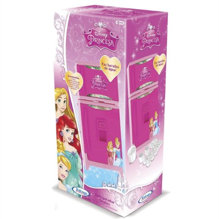 Brinquedo Refrigerador Duplex Com Som Disney Princesa 1800.9