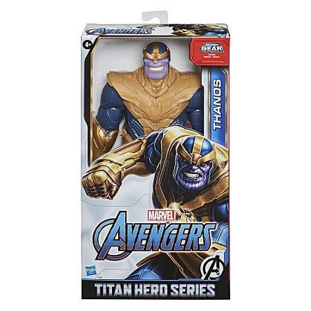 Boneco Marvel Thanos Titan Hero Blast Gear da Hasbro E7381