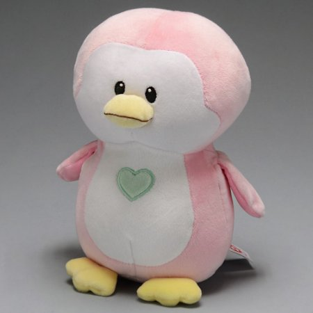 Kit 2 Pinguim Pelucia TY rosa e azul Bebes Twinkles e Penny