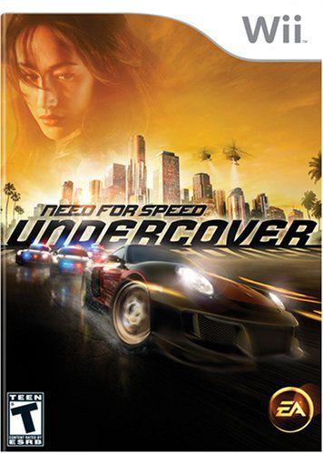 Jogo Lacrado Need For Speed Undercover para Nintendo Wii