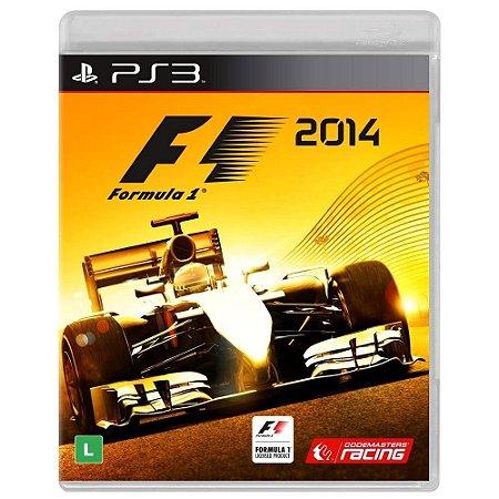 Jogo Corrida Fórmula 1 F1 2014 Pra Playstation Ps3 Português