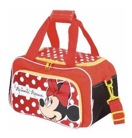 Maleta Sacola Infantil Grande Minnie 17y Original Sestini