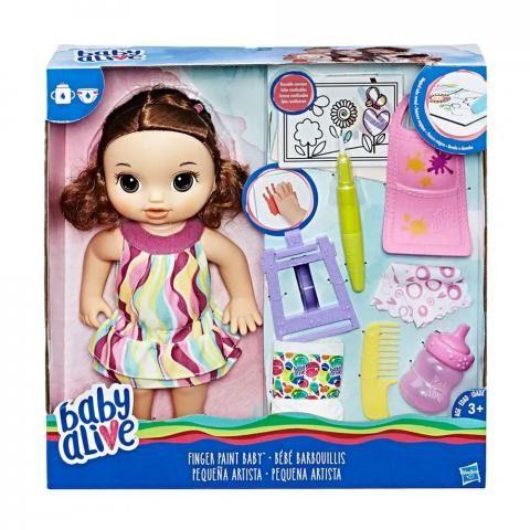 Brinquedo Boneca Hasbro Baby Alive Pequena Artista C0961