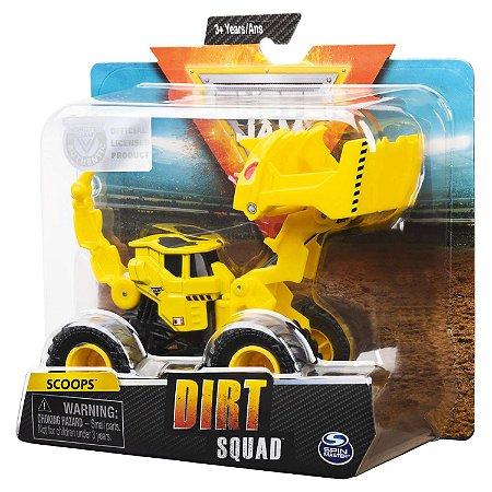 Veiculo Monster Jam Trator Dirt Squad Unitario Sortido 2027
