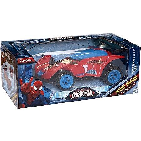 Veiculo de Controle Remoto Homem Aranha Spider Machine 5812
