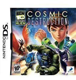 Jogo De Nintendo Ds Ben 10 Ultimate Alien Cosmic Destruction