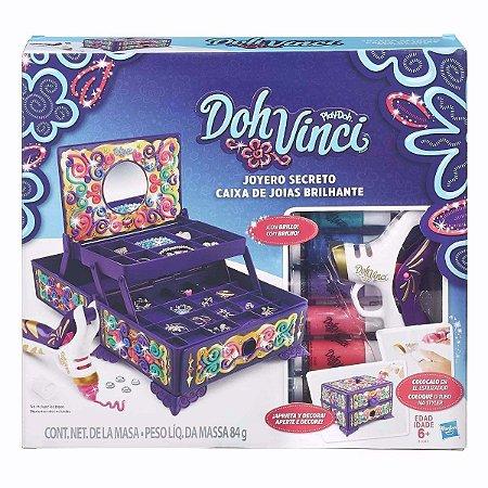 Novo Doh Vinci Joyeri Caixa De Joias Brilhante Hasbro B7003