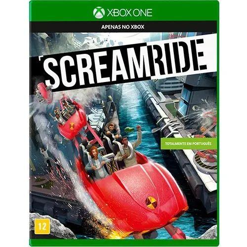Jogo Mídia Física Em Português Scream Ride Para Xbox One
