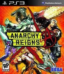 Jogo Novo Lacrado Ps3 Anarchy Reigns Da Sega Playstation Ps3
