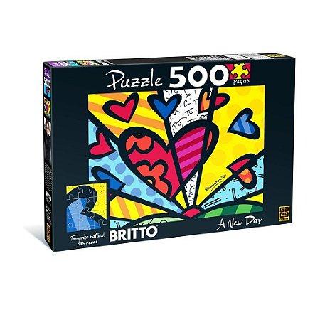 Quebra-cabeça Grow 500 Peças Romero Britto A New Day