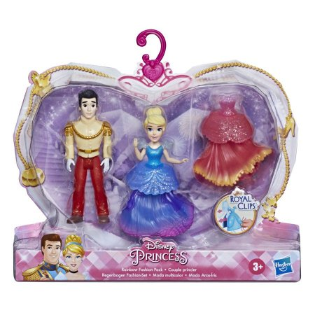 Conjunto Princesa e Príncipe Disney Sortido Unitário E9044