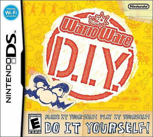Jogo Mario Wario Ware D.i.y. Diy Original Nintendo Ds 3ds